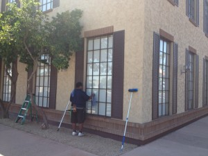 Commercial Window Cleaning in Phoenix, AZ by AZ Window Cleaners